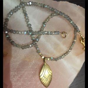 Gorgeous Satya Jewelry, Labradorite  Necklace